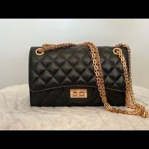Brand new black crossbody purse